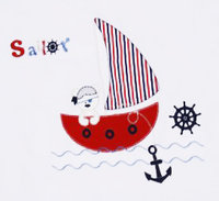 "Baby Bettset 140 x 80 ""Sailor"" 8 T"